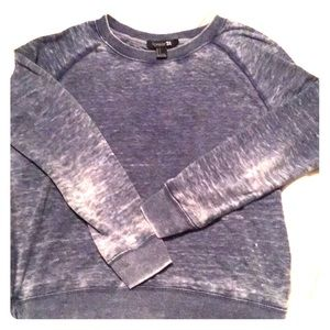 Grayish blue sweatshirt